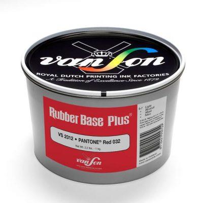 Van Son Rubber based 032 Red Letterpress Ink