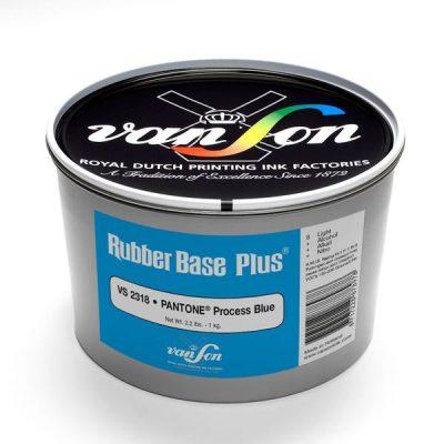 Van Son Letterpress Rubber based Process Blue