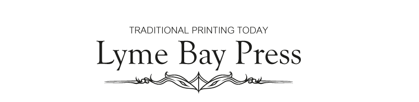 Lyme Bay Press – Letterpress Supplies