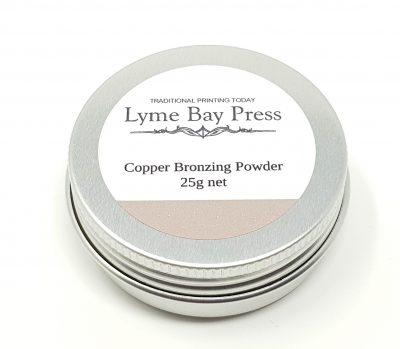 Copper Letterpress Bronzing Powders