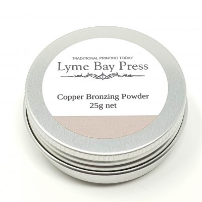 Copper Letterpress Bronzing Powders