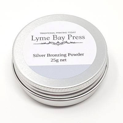 Silver Letterpress Bronzing Powders