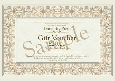 Lyme Bay Press Gift Voucher