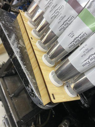 Letterpress Ink Tube Rack