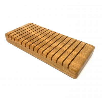 15 Slot Oak Drying Rack